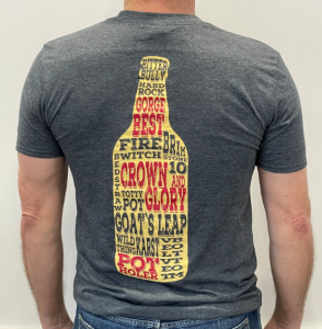 Cheddar Ales T-shirts - CHARCOAL GREY thumbnail